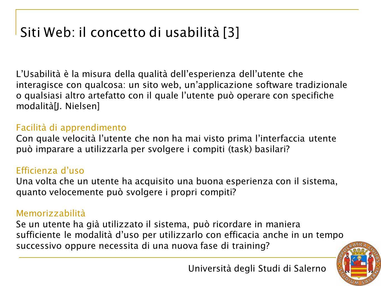 Siti Web: il concetto di usabilità [3]